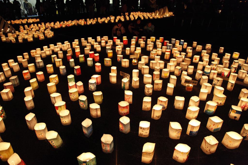 2015.11.1SUN かわにし音灯り at 川西市総合体育館東側駐車場2