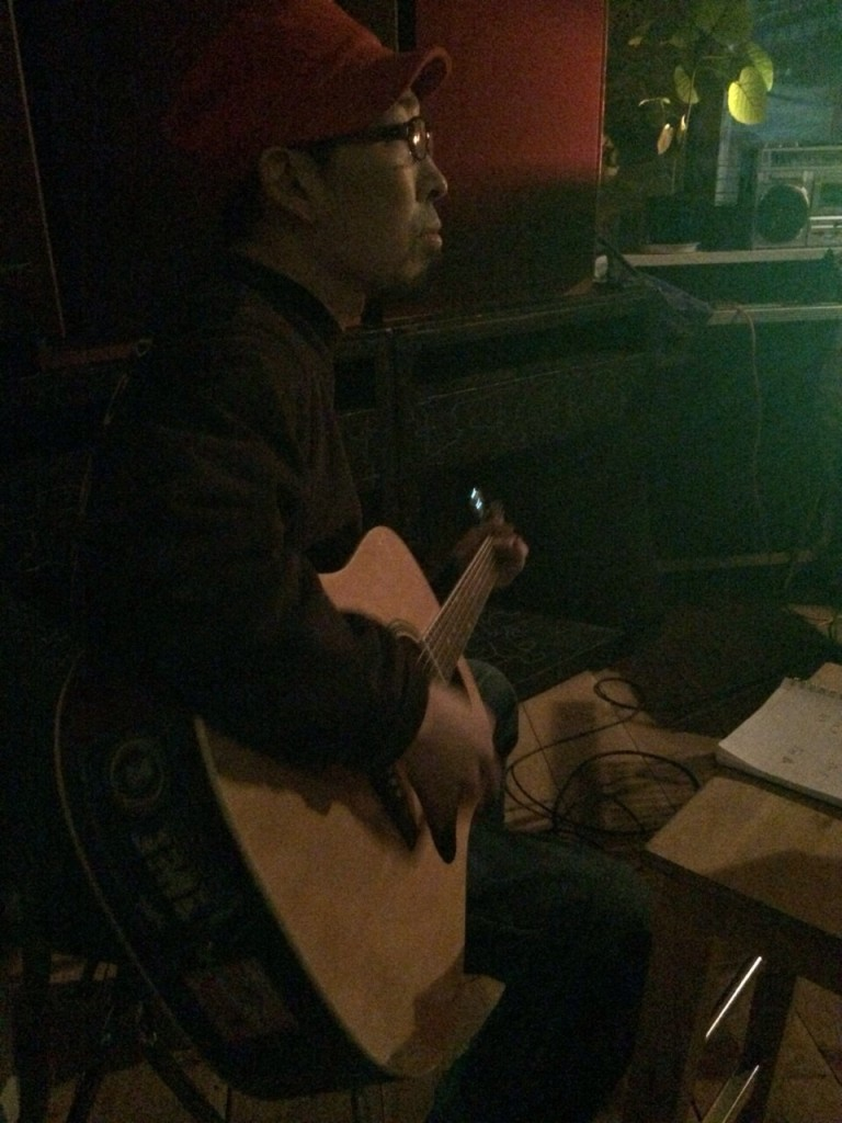 2015.2.8SUN Acoustic Live at Corner Stone Bar8