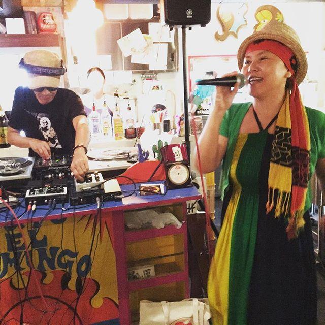 RANKIN PUMPKIN YOKO姉さんcome back to KOBE city︎ 会えて良かったです(^^)急遽カットマンで参戦!オールバイナルでのショウでしたが、ほとんどのオリジナル曲をその裏のVERSIONで歌いあげるあたりが半端ないキャリアですよね︎エルドミンゴ堪能させて頂きましたRespect