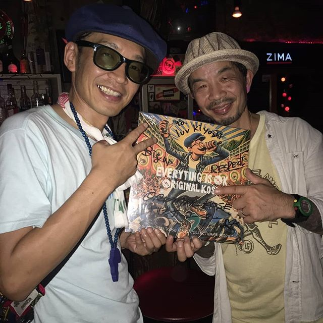 東京から現在岡山に移住され、ライターやオーガナイズ、DJをされているLuv KiyoshiさんもLPをゲットいただきました★DJ中にはMCさせてもらいました!ありがとうございました。岡山での今後の活躍を楽しみにしております(^.^) #LuvKiyoshi #originalkose #original_kose #オリジナルコーセー #origidub #origidubstudio #everyting_is_OK #everytingisok #japan #japanese #madeinjapan #japanmade #日本 #reggae #dub #dancehall #roots #stepper #digikal #killer #soundsystem #dubwize #deejay #singjay